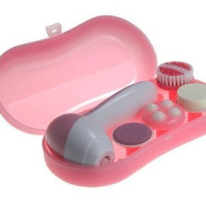 Huini Multifunction 4-in-1 Electric Facial & Body Brush Spa Cleaning Set