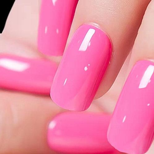 Huini Herbicos Nail Art Set -Pink Lady (1 Sets, 28pcs )