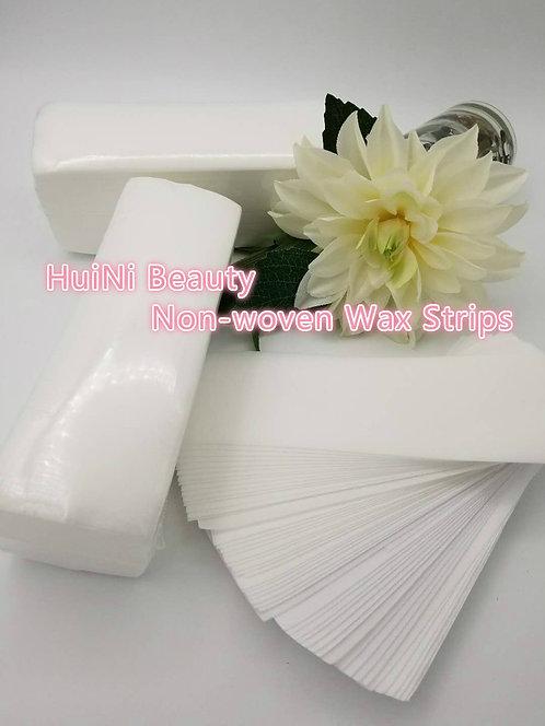 Huini 160pcs Non-woven Facial & Body Wax Strips Salon Spa (160pcs)
