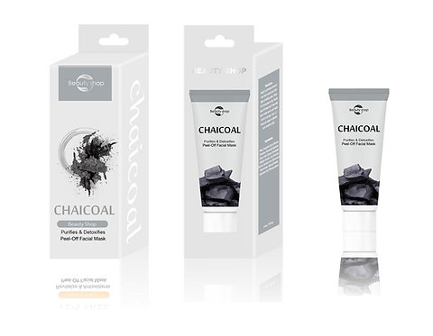 Charcoal Revitalize PeelOff Facial Collagen Mask  (MOQ: 500sets, FOB,Negotiable)