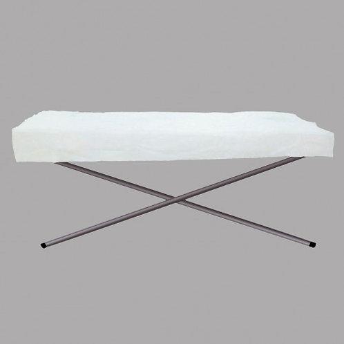 Huini Non-waterproof Flat Disposable Bed Sheet 50pcs Flat Sheet