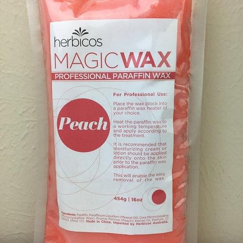 Paraffin Wax Peach 454g /1lb