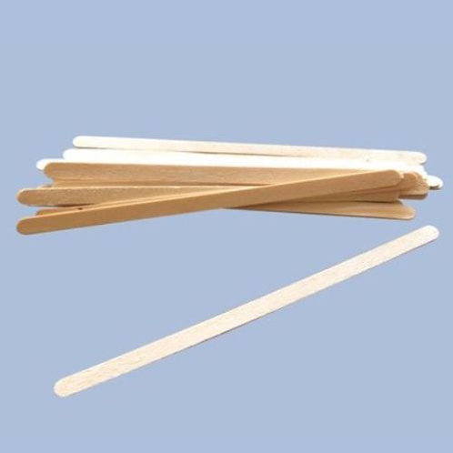 Huini 1000 Ct. Wooden Applicators Sticks for Face & Eyebrows Wax Spatula