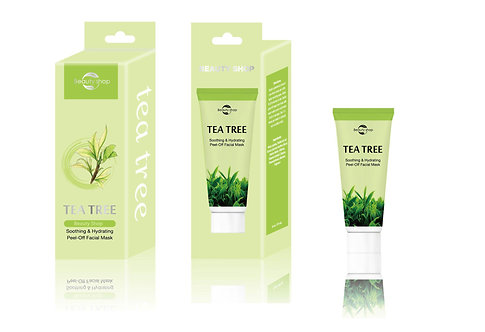 Tea Tree Facial Collagen Peel-Off Mask  (MOQ: 500 sets, FOB,Negotiable)