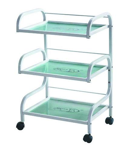 Beauty Trolley with Glass Board