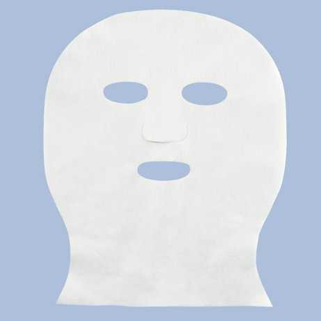 100 Pcs Skin Care Treatment Masks Neck Covering 50gsm Nonwoven Pre-cut