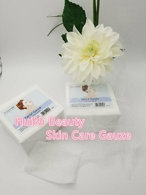 Huini Facial Gauze ,Square Shaped,facial Tissue,10.5''x13.5'',100-count