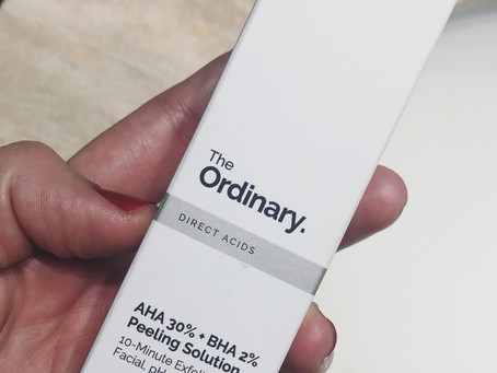 PEELING SOLUTION THE ORDINARY