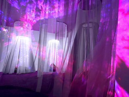 фиолетовая комната / выставка RESET