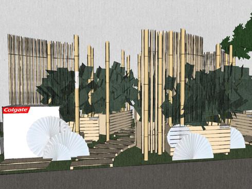 бамбуковый лес / экофестиваль Colgate