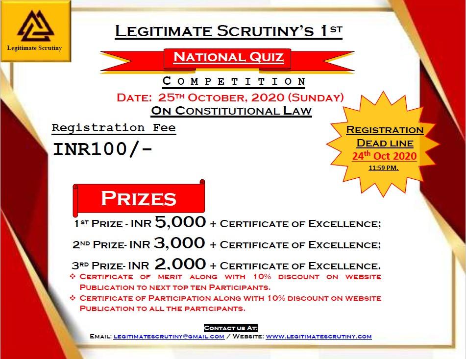 National Quiz Competetion