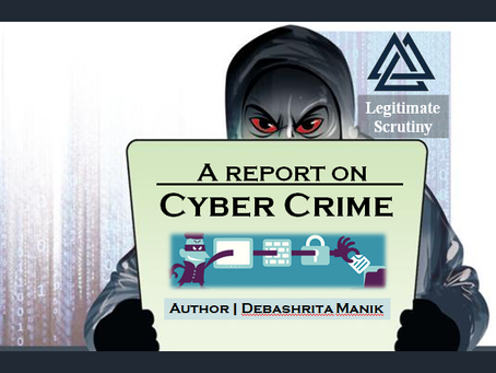 Blog | Escalation of Cyber crimes in India