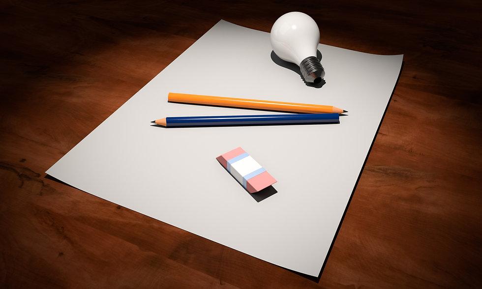 foglio idee scrittura copywriter copywriting grafica e testi