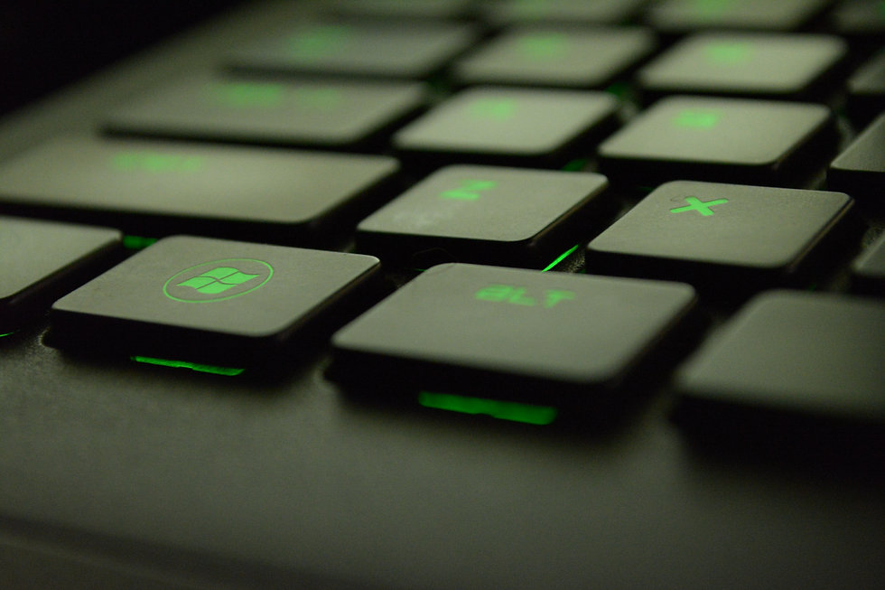 Tasti pc laptop notebook pc portatile sito web