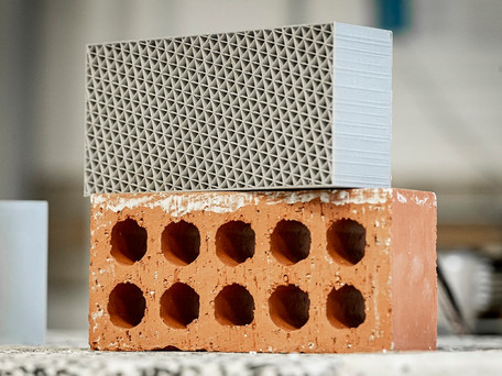 3D-printed plastic waste brick 'offers ten times better insulation'