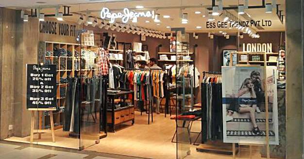 best service b4946 55ca4 Pepe Jeans London now in Dharamsala!