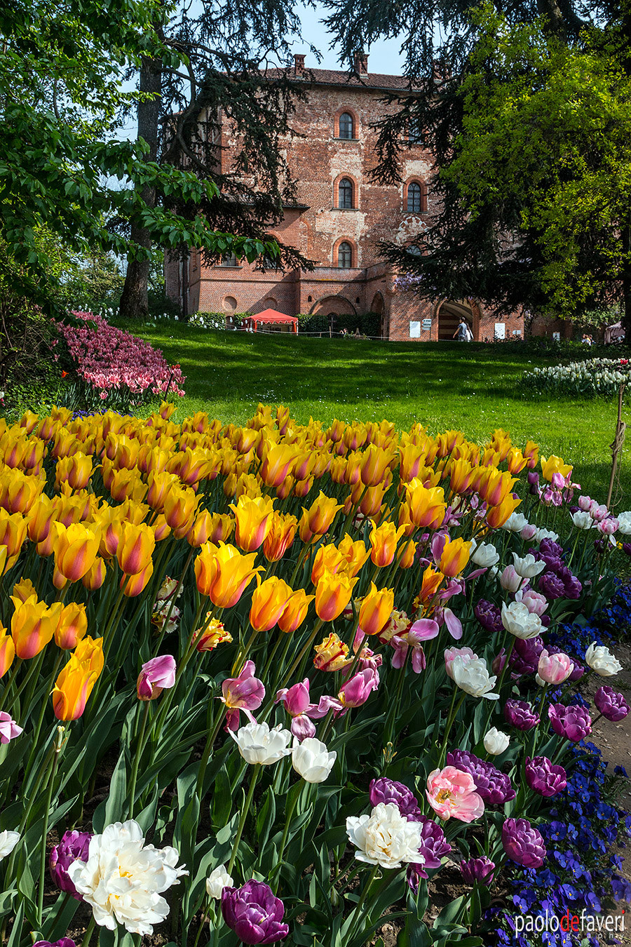 Pralormo Castle Turin Italy Messer Tulipano Tulip Flowers Exhibition spring 2019
