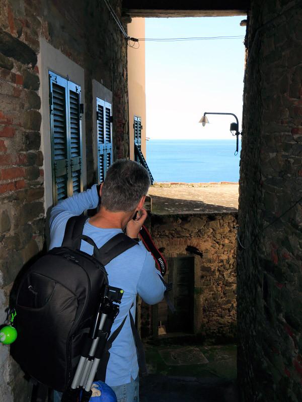 With Jeff in Corniglia, Cinque Terre