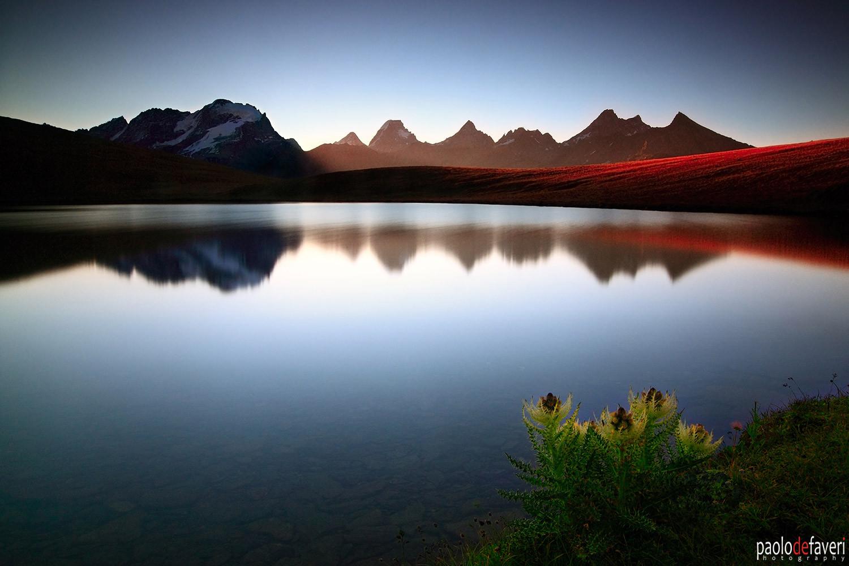 Lake_Rosset_Gran_Paradiso_Range_Reflecti
