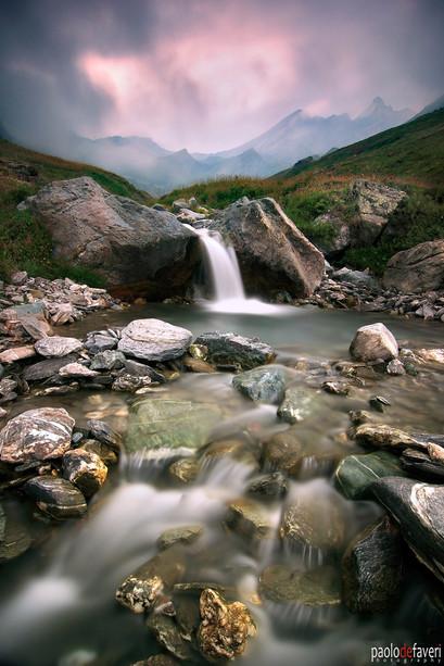 Varaita_river_sources_Val_Varaita_Wester