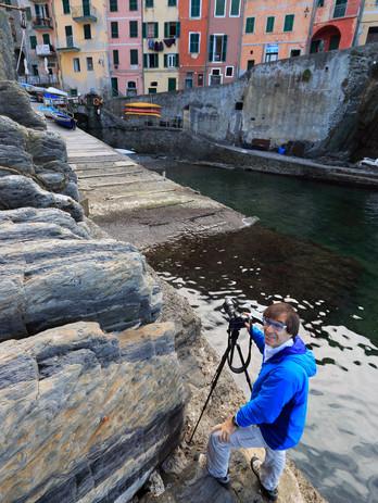 With Benny in Riomaggiore, Cinque Terre