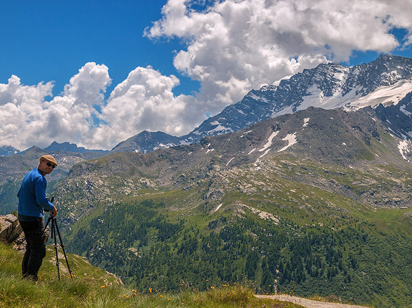 With Dirk in the Gran Paradiso National Park