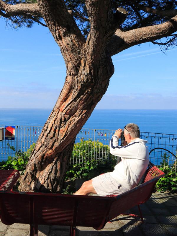 With Jeff in Riomaggiore, Cinque Terre