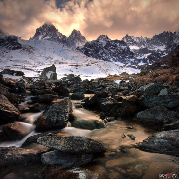 Pian_Regina_Monviso_Po_River_Sunset_Wint