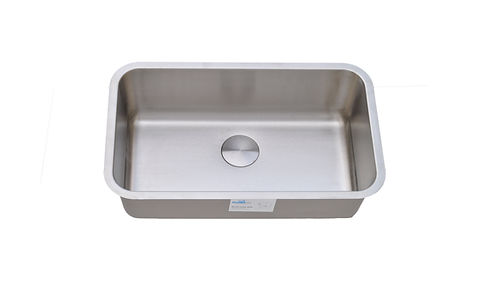 "Big Rectengular single bowl sinks. Fits 30"" sink base cabinets"