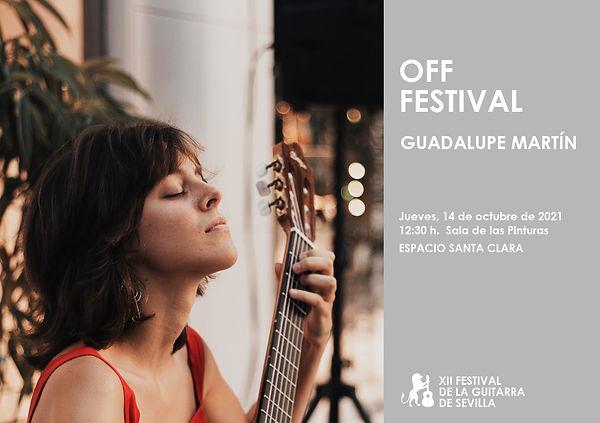 Cartel FESTIVAL OFF (Guadalupe Martín).jpg