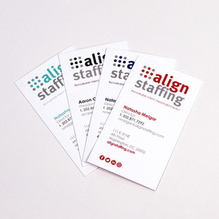 Business Card (Set of Four Color Variations)