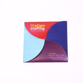 Custom Foldout Brochure Holder