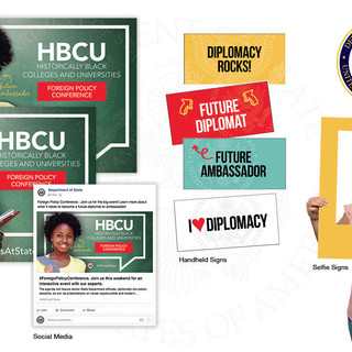 Campaign Posters, Handheld Signs, Selfie Signs, Social Media Graphics