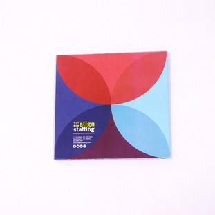 Custom Foldout Brochure Holder (Back Side)