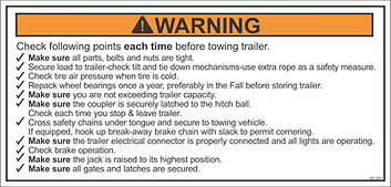 Trailer Towing Checklist Before Towing