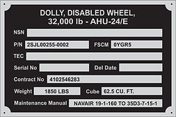 2022as5260-1 dolly disabled wheel 32,000