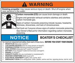 Marine Carbon Monoxide Warning