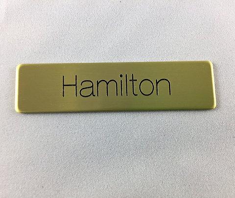 Uniform Name Tags