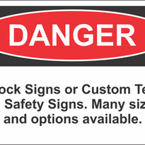 ANSI and OSHA compliant Safety Signs & Decals