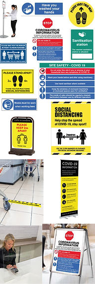 COVID Signs and Safety Signage