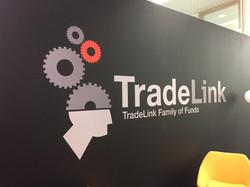 Tradelink printed vinyl logo