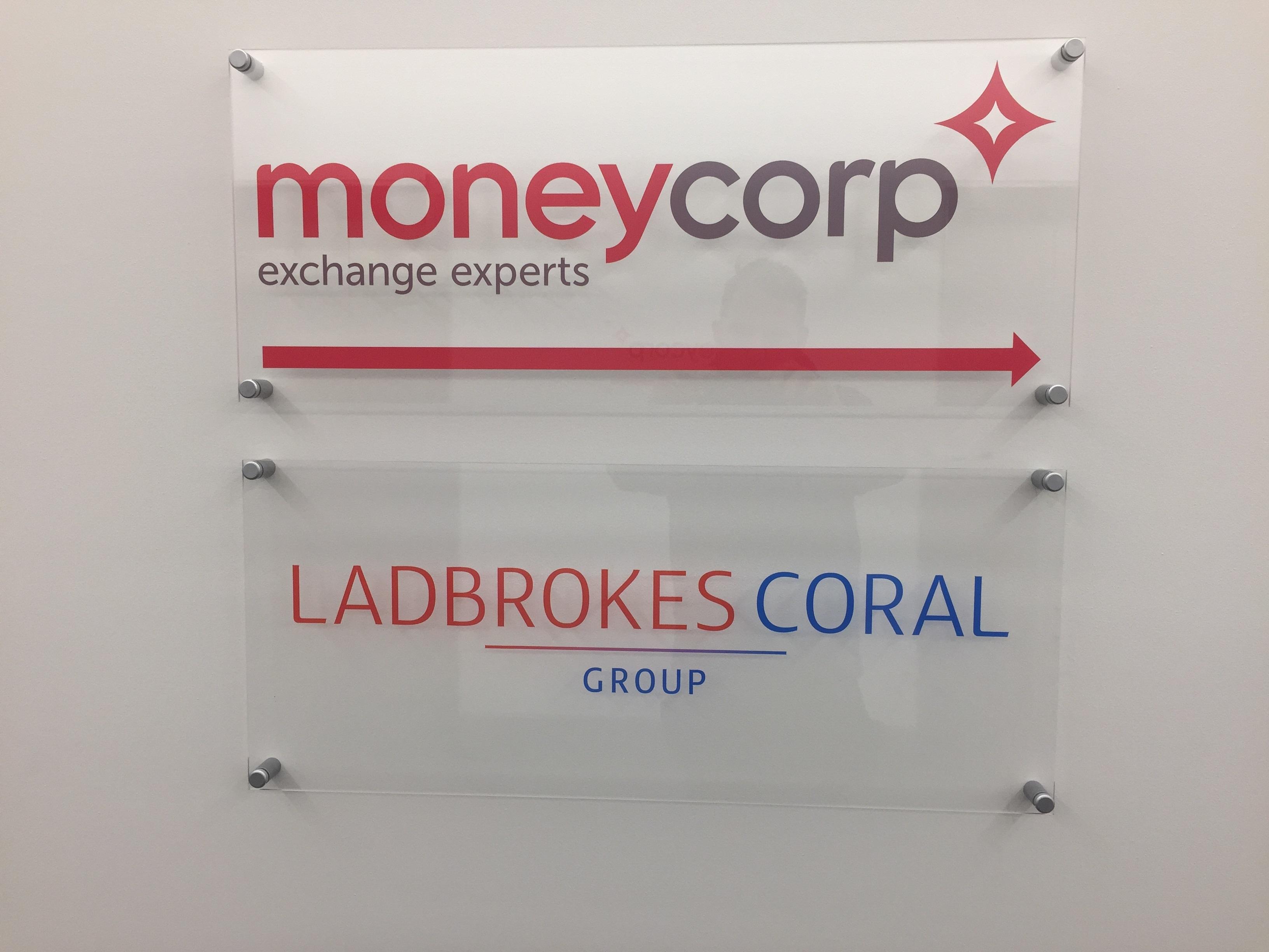 Ladbrokes Lift Lobby