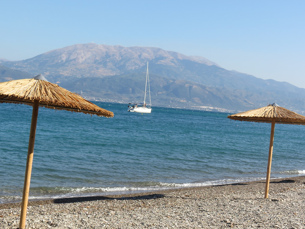 Greece mainland for the 1st time