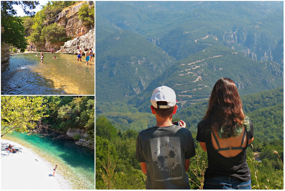 Zagori,  trip to north Greece and Pelion