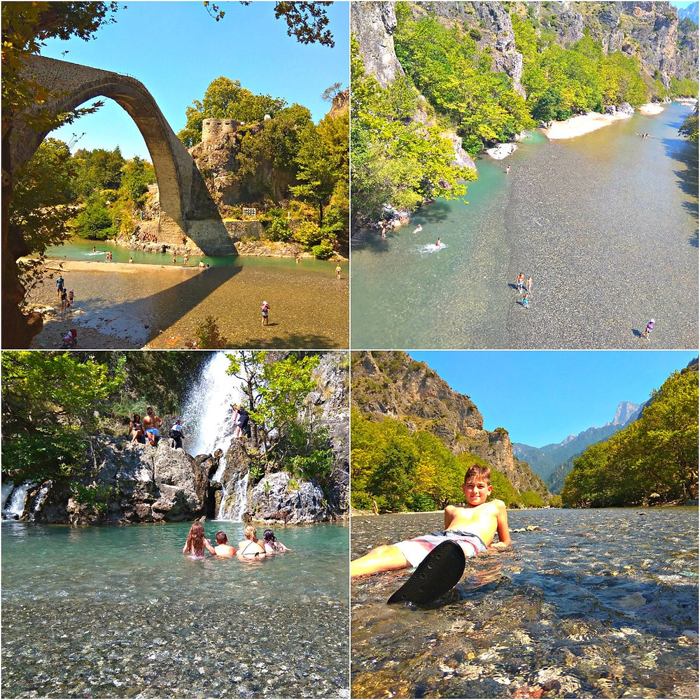 Aoos river,  trip to north Greece and Pelion