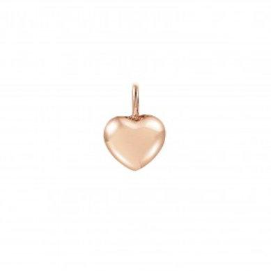 Pendente Prata Dourada Nomination Coração Charming