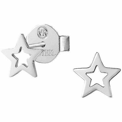 Brincos Nomination Stardust Estrela Aberta Aço