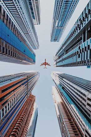 Amir Hanna Plane Cityscape Photography