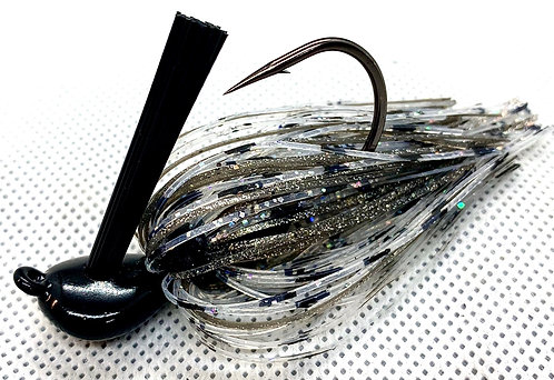 FSF Flippin Jig*  Color: Smoke Shad 1/2oz.