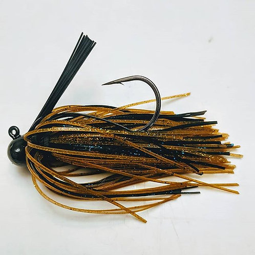 Flirt Skirts Football Jig Color: Okie Craw 3/8oz